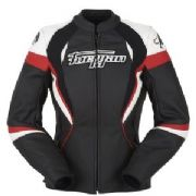 Furygan Xenia Racing Lady Jkt blk/red